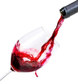 Zahnverfärbung durch Rotwein